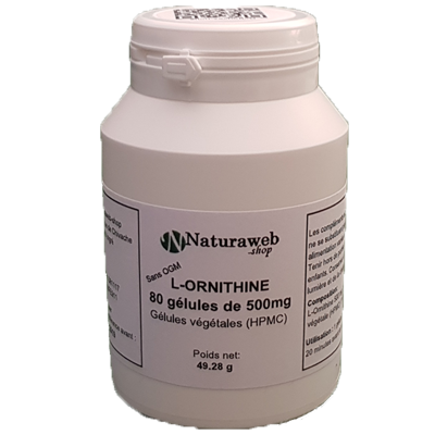 ornithine   www.naturaweb-shop.com